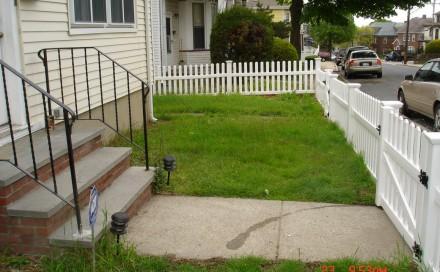 Frontyard Before