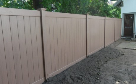 Custom Color 6' ft by 8' Ft Vinyl Fence